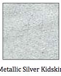 Metallic Silver Kidskin