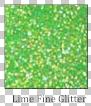 Lime Fine Glitter