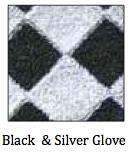 Black & Silver Glove