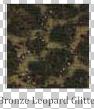 Bronze Leopard Glitter