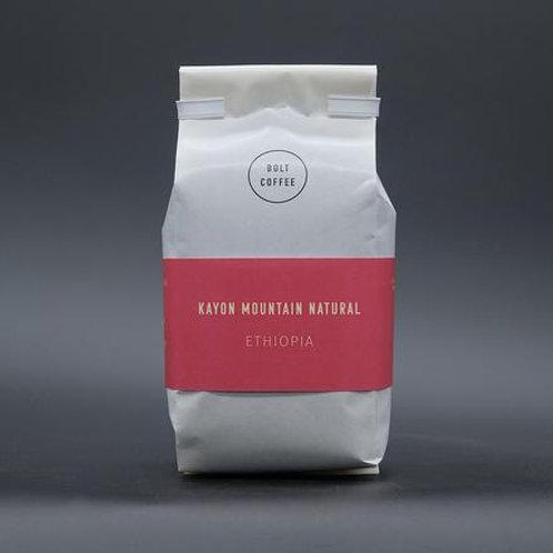 Bolt Coffee-  Kayon Mountain Natural (Ethiopa)
