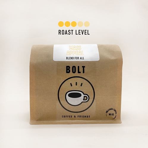 Bolt Coffee- Mass Appeal (12 oz bag)