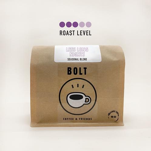 Bolt Coffee- Less Long Nights