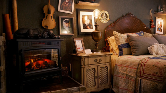 """""""Authentic antiques in every nook."""""""