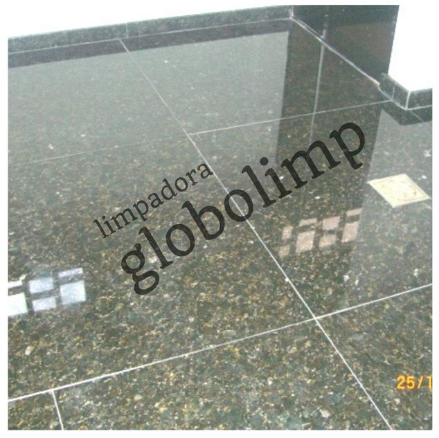 Tratamento em pisos de granito