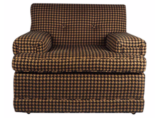Vintage 1950s Houndstooth Chair