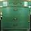 Thumbnail: Vintage 1950s Painted Emerald Dresser