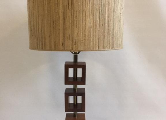 Mid Century 1970s Table Lamp