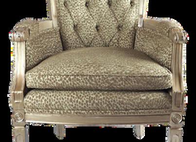 Vintage Hollywood Regency Chair