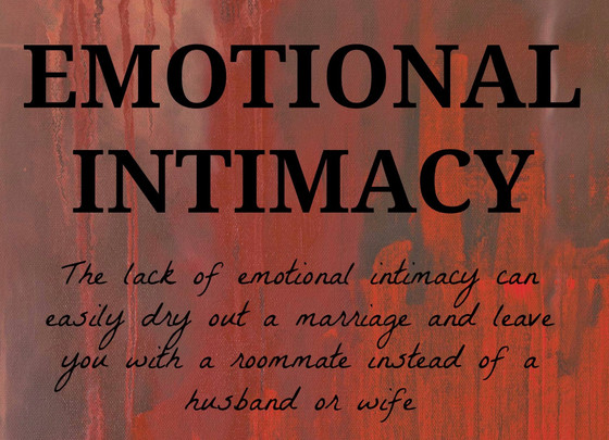 Intimacy Outside The Bedroom