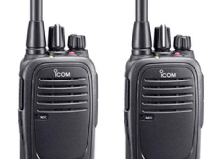 PORTATIF ICOM TYPE IC-F2000 UHF PTI - Ensemble de 2 PTI