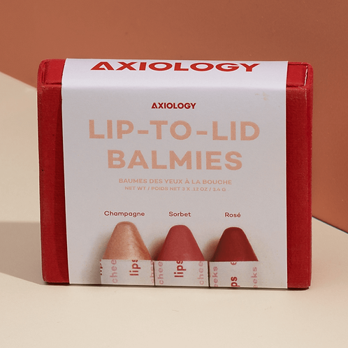 Lip-To-Lid Balmies Cotton Candy Skies