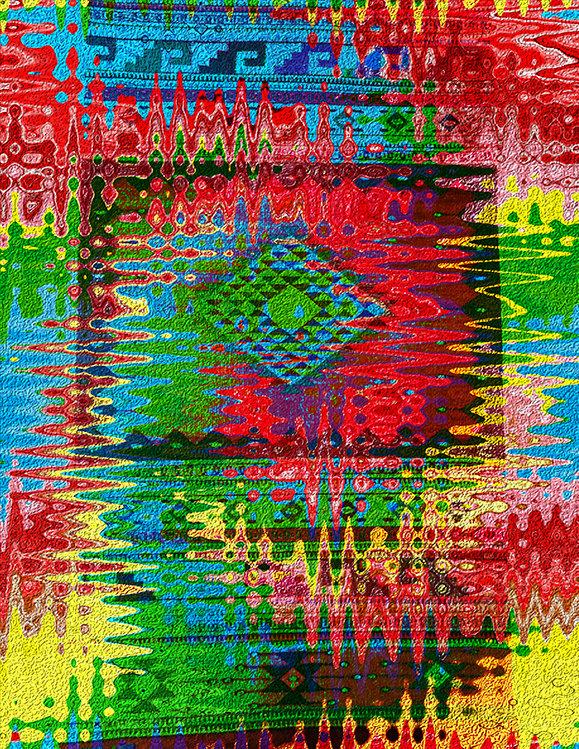 Electric Blanket - Digital Art by Joel Schreck