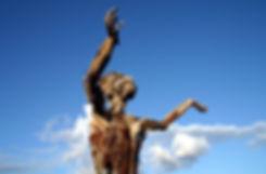 albany bulb beseeching heaven sculpture