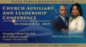 2019 Church Auxiliary & Leadership Confe