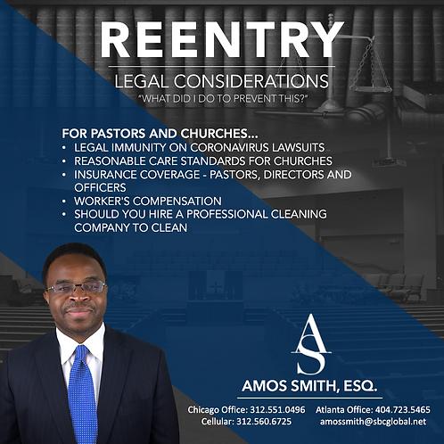 COVID ReEntry - Legal Considerations Video Seminar