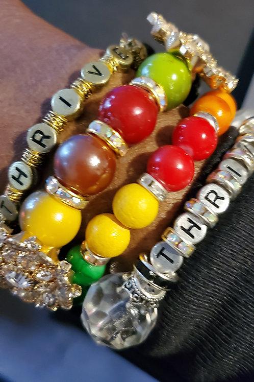 Thrive Bracelet Set (4-piece set)