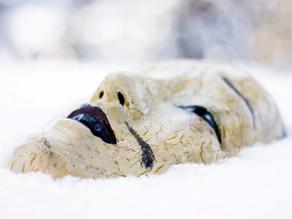 Winter embodiment. Awakening inner dialogue.