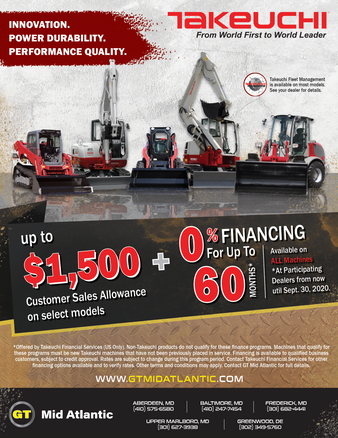Takeuchi Flyer for Groff Tractor