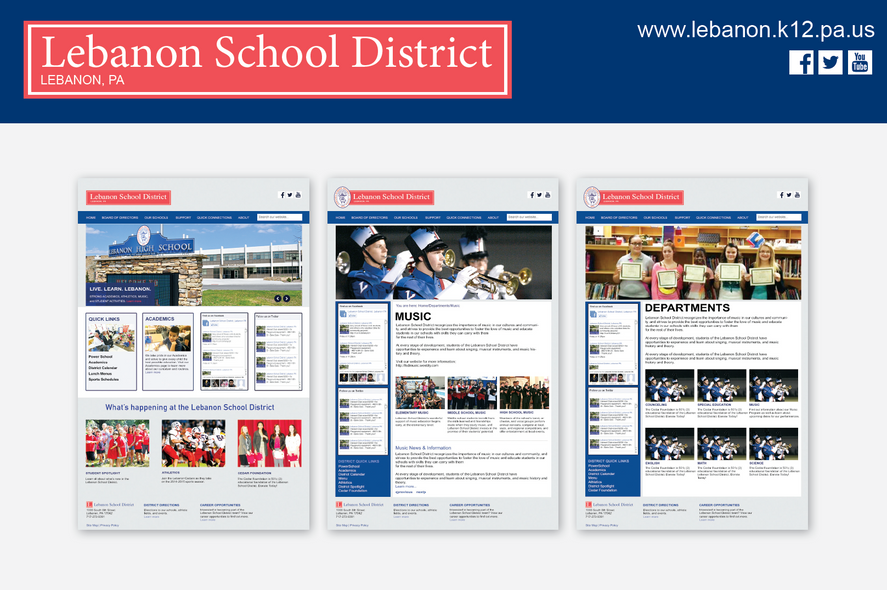 Lebanon School District Website