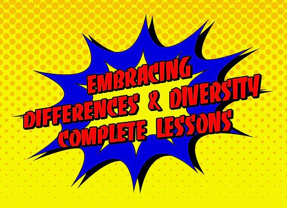 Unit 3: Embracing Differences & Diversity - Complete Lessons 1-4