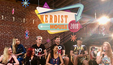 Nerdist hosts the Coalition's Join the Real-Life Justice League panel featuring Random Acts' Executive Director Rachel Miner, Dr. Andrea Letamendi, Dr. Janina Scarlet, Adam Bouska & Jeff Parshley, Aliza Pearl, and Deric Hughes; moderated by Chase Masterson.