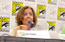 The United Nations Association made its comic con debut with San Diego Chapter  President Bettina Hausmann!