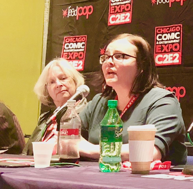 Upworthy made its pop culture con debut at C2E2 with activist and journalist Parker Molloy!