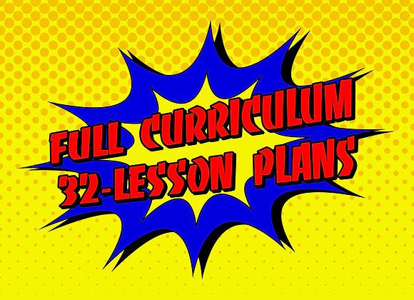 Full Curriculum Complete 32-Lesson Plans
