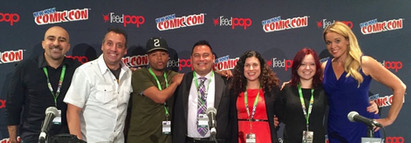 The United Nations made its comic con debut on Pop Culture Hero Coalition's panel in NY!
