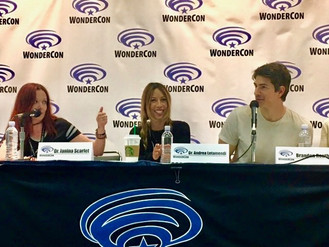 Superman / Legends of Tomorrow's Brandon Routh joins Coalition Curriculum creators, Dr. Janina Scarlet and Dr. Andrea Letamendi