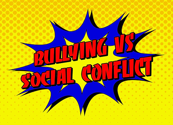 Unit 5: Preventing and Responding to Bullying and Social Conflict Lesson 1