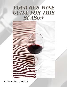 red wine guide Alex Mitcheson bubble. magazine