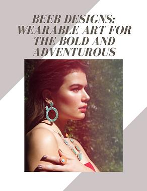 Beeb Designs bubble. magazine