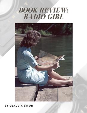 book review Radio Girl bubble. magazine