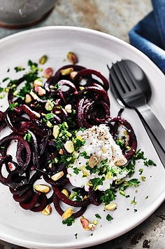 beetroot noodles bubble. magazine