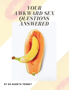 Awkward Sex Questions Answered bubble. magazine