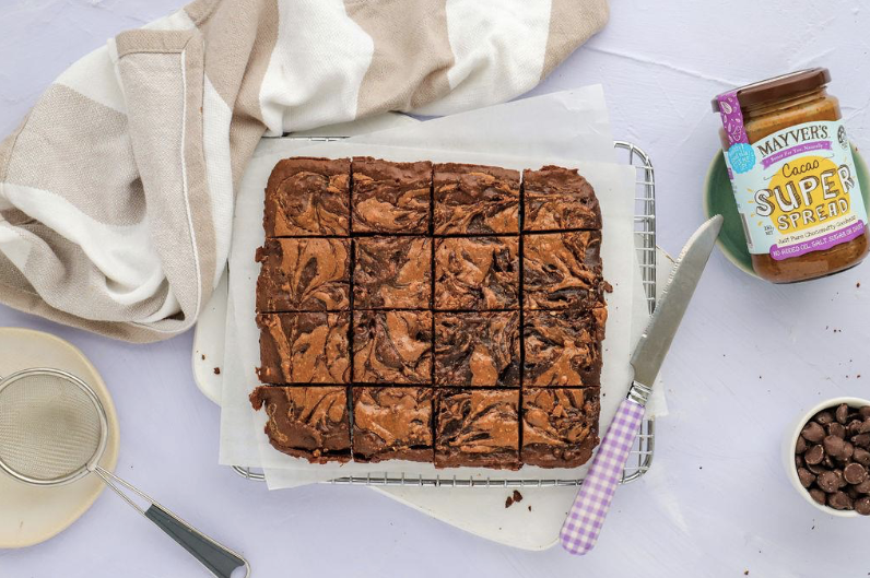 Susie Burrell choc ripple brownies recipe