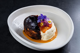 SOUL Dining - Burnt Basque cheesecake bubble. magazine