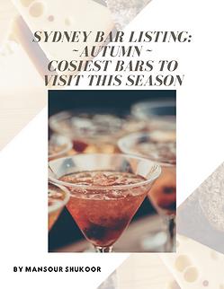 Best Sydney bars