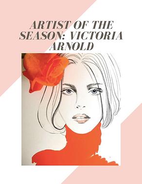 Artist of the season Victoria Arnold bubble. magazine