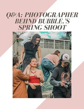 Photographer Geoffrey Chuah bubble. magazine