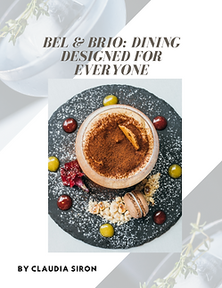Bel & Brio food review