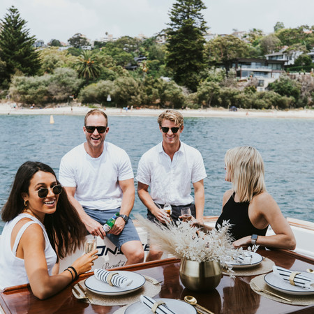 Flotespace: Dining on Sydney Harbour in style