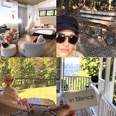 Bianca Dye travel vision board bubble. magazine