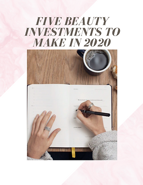 Beauty investments 2020 bubble. magazine