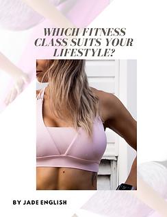 Fitness Classes Suit Lifesyle Jade English