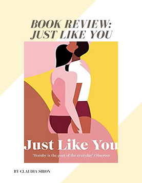 Just like you book review bubble. magazine