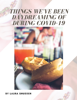 Daydreaming in Covid-19 bubble. magazine