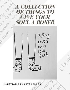 Soul Boners bubble. magazine